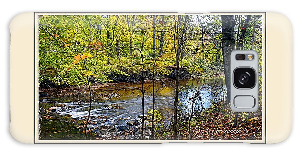 Galaxy Case - Autumn Stream Montgomery County Pennsylvania by A Gurmankin