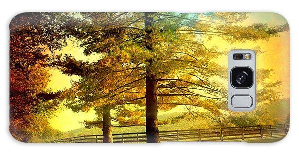Autumn Stroll Galaxy Case