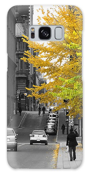 Autumn Stroll Galaxy Case by Nicola Nobile