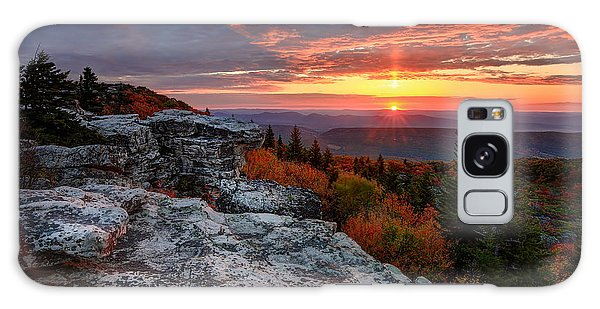 Autumn Sunrise At Dolly Sods Galaxy Case