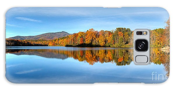 Autumn Sunrise At Price Lake Galaxy Case