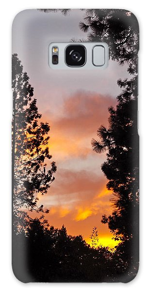 Autumn Sunset Galaxy Case