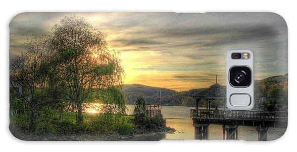 Autumn Sunset Galaxy Case by Nicola Nobile