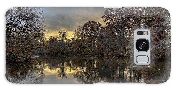 Autumn Sunset On West Brook Pond Galaxy Case