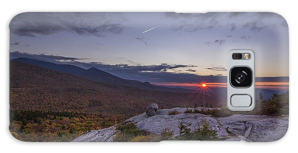 Autumn Sunset Over Sugarloaf Mountain Galaxy Case