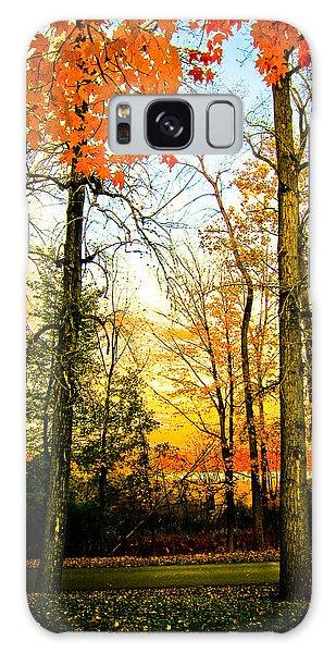 Autumn Sunset  Galaxy Case by Sara Frank