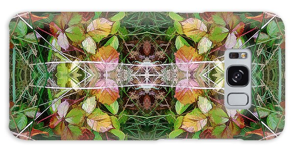 Autumn Symmetry Galaxy Case