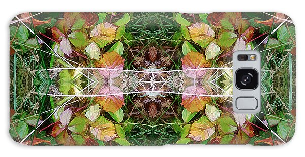 Autumn Symmetry Galaxy Case
