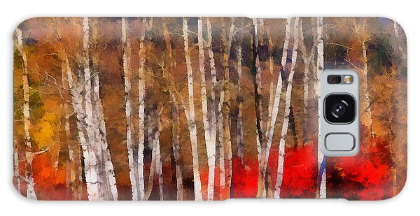 Autumn Tapestry Galaxy Case by Clare VanderVeen