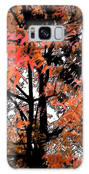 Autumn Tree 2 Galaxy Case