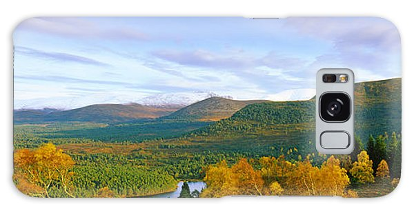 Cairngorms National Park Galaxy Case - Autumn Trees At Loch An Eilein by Panoramic Images