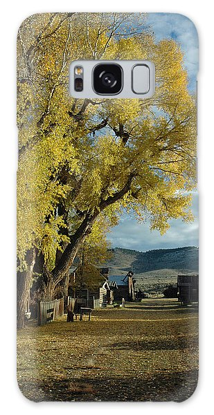 Autumn Trees In Nevada City Montana Galaxy Case