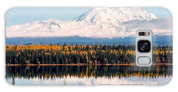 Autumn View Of Mt. Drum - Alaska Galaxy Case