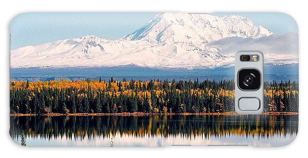 Autumn View Of Mt. Drum - Alaska Galaxy Case