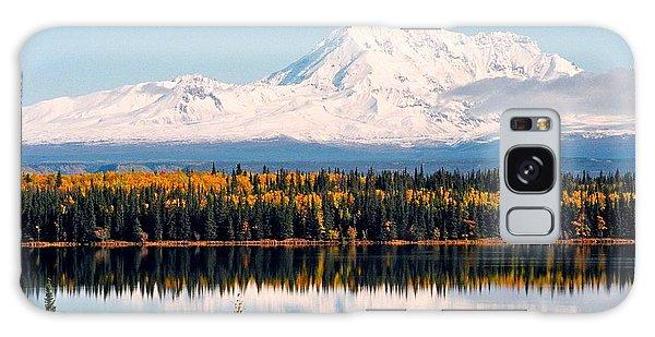Autumn View Of Mt. Drum - Alaska Galaxy Case by Juergen Weiss