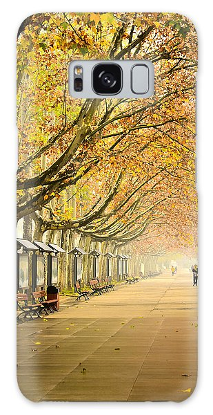 Autumn Walk Xian China Galaxy Case