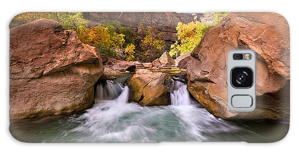 Autumn Waterfall In Zion Galaxy Case