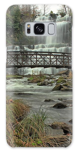 Autumn Waterfalls Galaxy Case