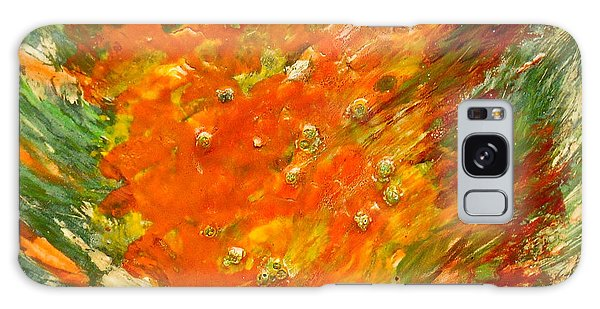 Autumn Wind Galaxy Case by Joan Reese