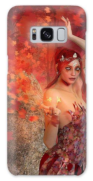 Autumn Witch Galaxy Case