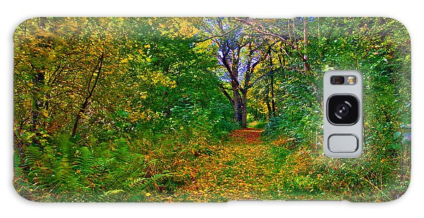 Autumn Woodland Galaxy Case