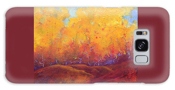 Autumn's Blaze Galaxy Case by Nancy Jolley