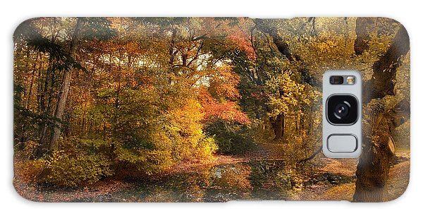 Galaxy Case featuring the photograph Autumn's Edge by Jessica Jenney
