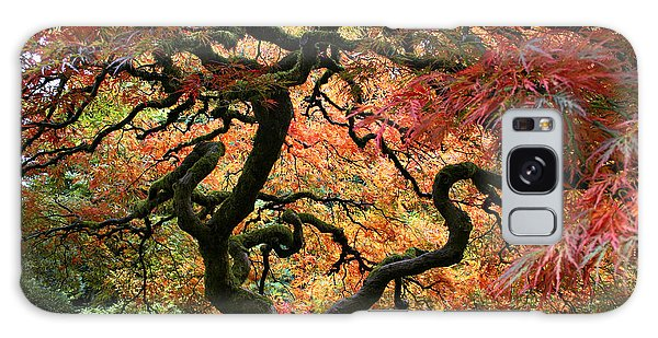 Autumn's Fire Galaxy Case