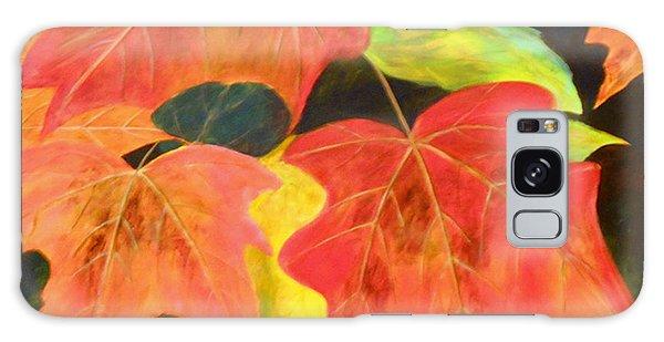 Autumn's Glow  Galaxy Case by Nancy Czejkowski