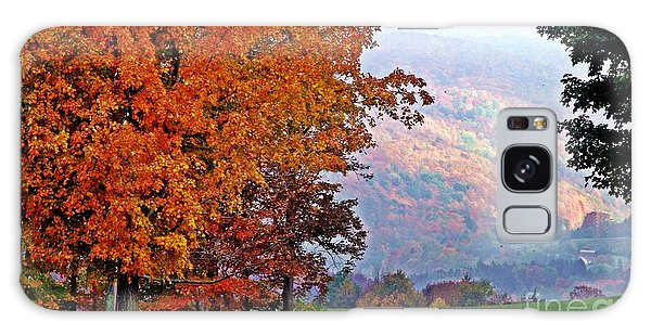 Autumns Splendor Galaxy Case by Christian Mattison