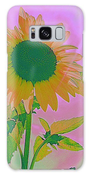 Autumn's Sunflower Pop Art Galaxy Case by Dora Sofia Caputo Photographic Art and Design
