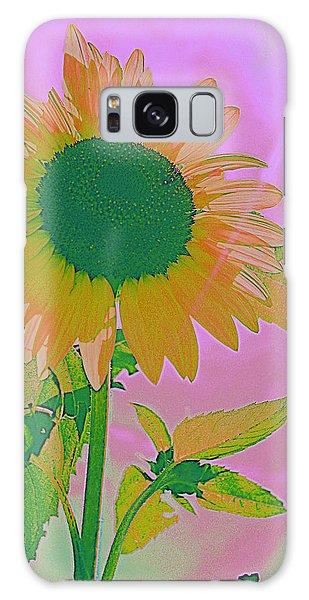 Autumn's Sunflower Pop Art Galaxy Case