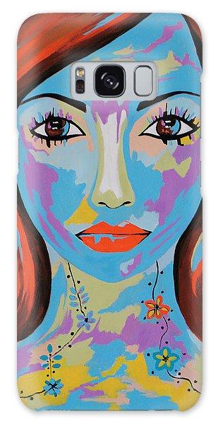 Avani - Contemporary Woman Art Galaxy Case