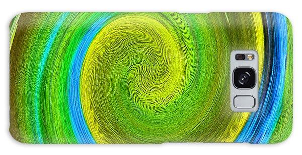 Avian Swirl 2 Galaxy Case by Margaret Saheed