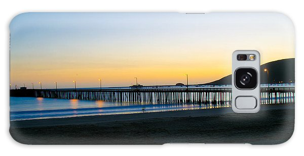 Avila Beach Pier Sunset Galaxy Case