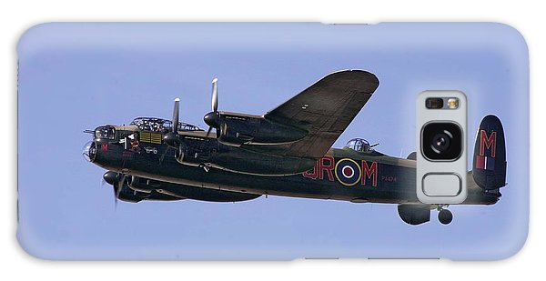 Avro 638 Lancaster At The Royal International Air Tattoo Galaxy Case by Paul Fearn