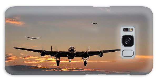Avro Lancaster - Dawn Return Galaxy Case