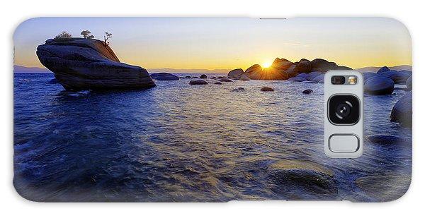 Beach Sunset Galaxy Case - Awaiting by Chad Dutson