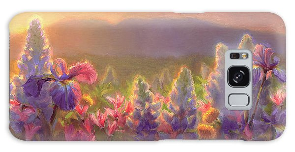Awakening - Mt Susitna Spring - Sleeping Lady Galaxy Case
