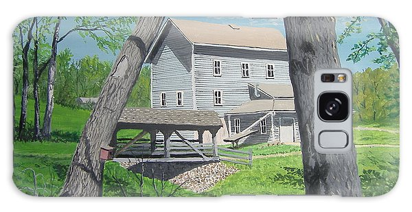 Award-winning Painting Of Beckman's Mill Galaxy Case