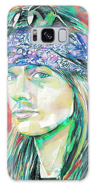 Axl Rose Portrait.2 Galaxy Case