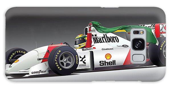 Ayrton Senna Da Silva Art Galaxy Case