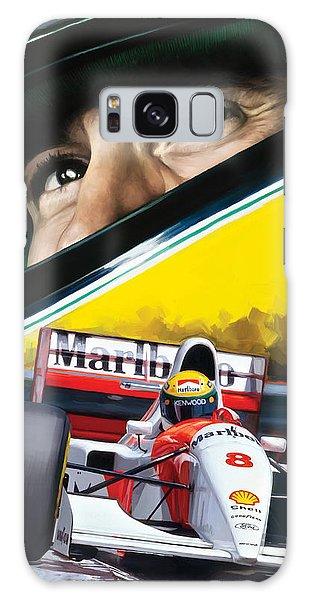Ayrton Senna Artwork Galaxy Case