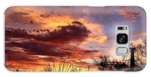Az Monsoon Sunset Galaxy Case by Elaine Malott
