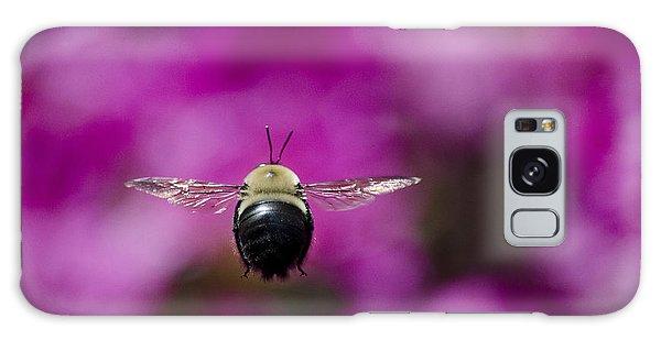 Azalea Bush Bee Galaxy Case by Brian Stevens