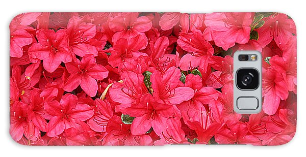 Azalea In Bloom Galaxy Case