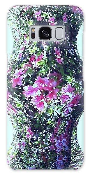 Azalea Vase Galaxy Case by Pamela Hyde Wilson