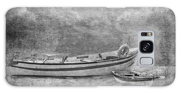 Azorean Fishing Boats B/w Galaxy Case