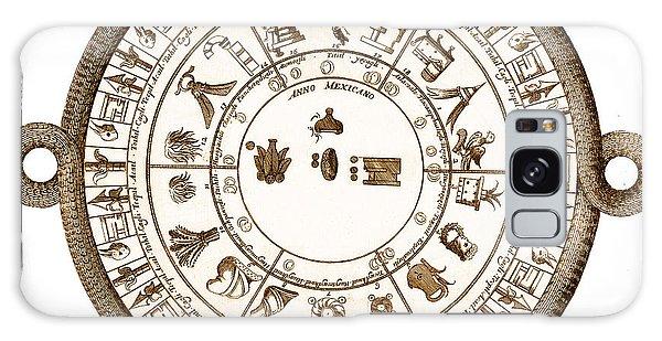 Art Institute Galaxy S8 Case - Aztec Calendar by Getty Research Institute
