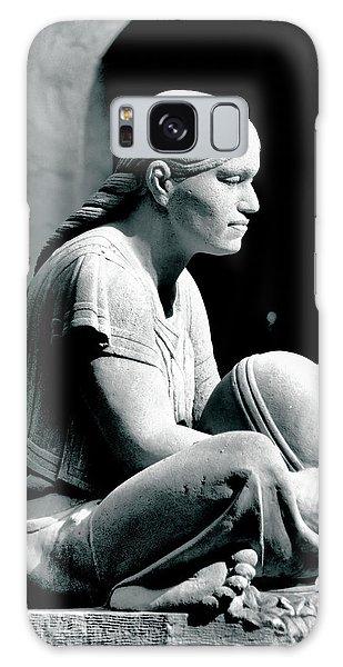 Aztec Woman Galaxy Case by Bob Wall